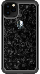 BMT Treasure Nacre case for iPhone 11 PRO Max - Silver Skull