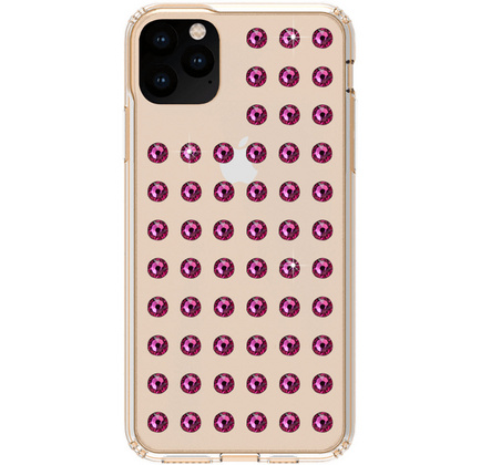 BMT Extravaganza Clear case for iPhone 11 PRO Max  - Fuchsia