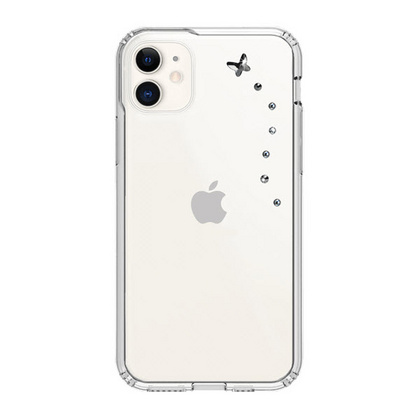 BMT Papillon Clear case for iPhone 11 - Starry Night