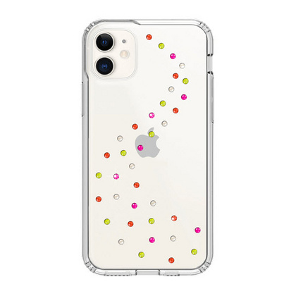 BMT Milky Way Clear case for iPhone 11 - Neon Pop