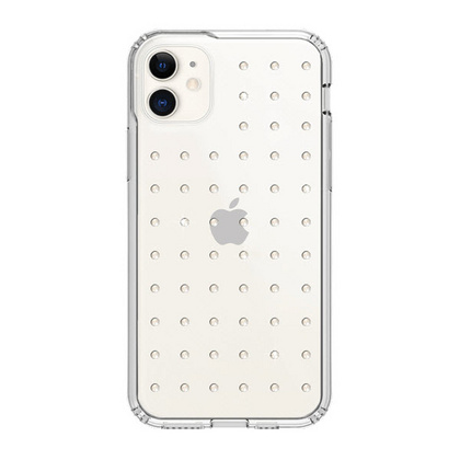 BMT Extravaganza Clear case for iPhone 11 - Neon White