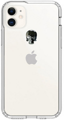 BMT Treasure Clear case for iPhone 11 - Jet Skull