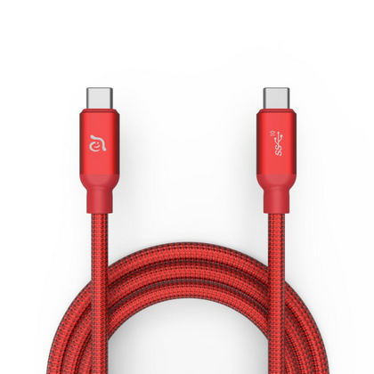 Adam Elements USB-C to USB-C Cable (3.1 - 2. Gen) - Red
