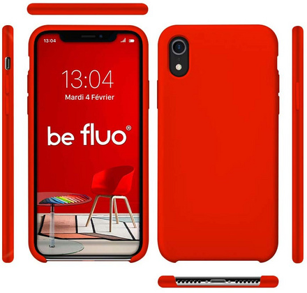 Moxie Original Silicone Case for iPhone Xr - Fluo Red