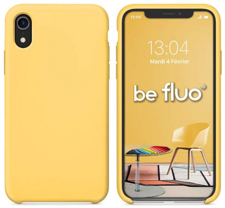 Moxie Original Silicone Case for iPhone Xr - Yellow