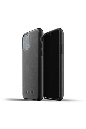 MUJJO Full Leather Case for iPhone 11 Pro - Black