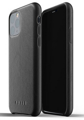 MUJJO Full Leather Case for iPhone 11 Pro Max - Black