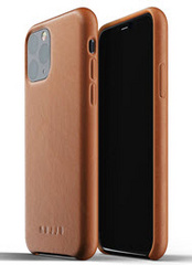 MUJJO Full Leather Case for iPhone 11 Pro Max - Tan