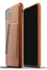 MUJJO Full Leather Wallet Case for iPhone 11 Pro Max - Tan