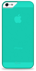 Pinlo Rubber Slice Case for iPhone 5/5s/SE - Green