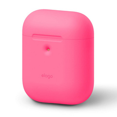 Elago Wireless Airpods Silicone Case - Neon Hot Pink