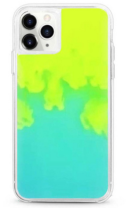 Sdesign Sand Case for iPhone 11 PRO Max - Neon Yellow