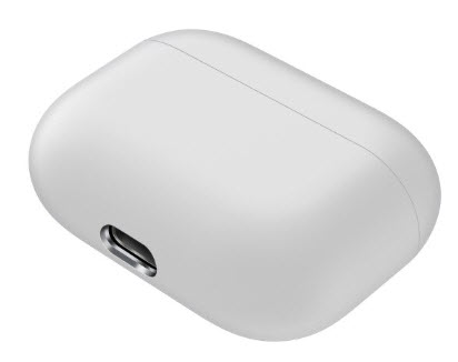 Sdesign Airpods Pro Silicone Case - White