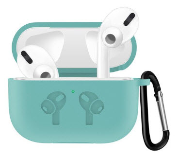 Sdesign Airpods Pro Hang Silicone Case - Azul
