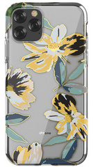 DEVIA Flowers Case for iPhone 11 PRO Max - Yellow