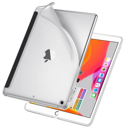 Sdesign Yippee Shell TPU Case for iPad 10.2'' 2019 - Clear