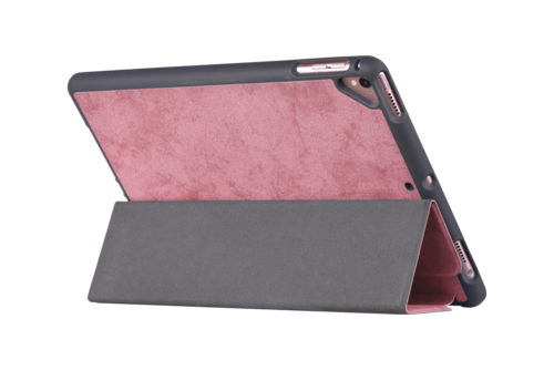 Comma Swan iPad 10.2'' Case with Apple Pen holder - Pink