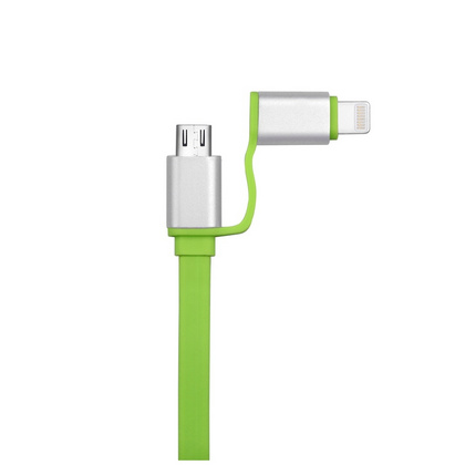 Magic for Dual port 2 in 1 Cable - Green