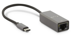 LMP USB-C to Gigabit Ethernet adapter - Space Gray