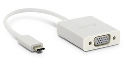 LMP USB-C to VGA adapter - Silver