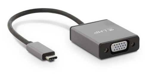 LMP USB-C to VGA adapter - Space Gray