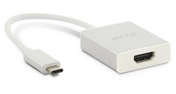 LMP USB-C to HDMI 2.0 Adapter - Silver