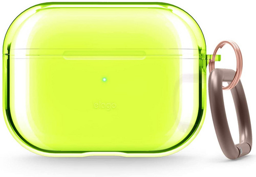 Elago Airpods Pro TPU Case - Neon Yellow