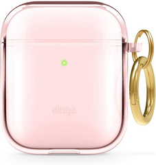 Elago Airpods TPU Case - Lovely Pink