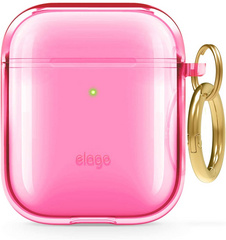 Elago Airpods TPU Case - Neon Hot Pink