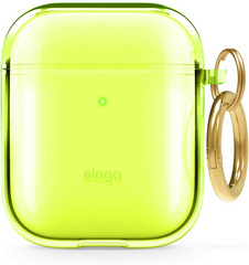 Elago Airpods TPU Case - Neon Yellow