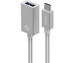 KANEX USB-C to USB Female Adap - Silver