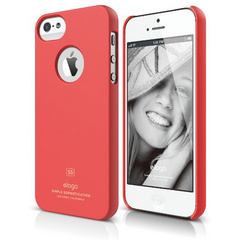 Elago S5 Slim Fit Case for iPhone 5/5s/SE - Soft Feeling Italian Rose