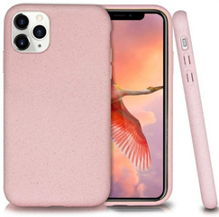 100% Biodegradable case for iPhone 11 PRO - Pink