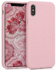 100% Biodegradable case for iPhone X/Xs - Pink