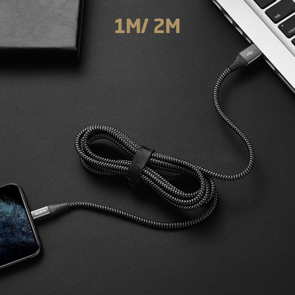 ESR Lightning Cable for Sync & Charge 1m - Black