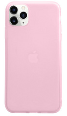 Liquid Silicone Soft case for iPhone 11 PRO Max - Pink