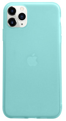 Liquid Silicone Soft case for iPhone 11 PRO Max - Tiffany Blue