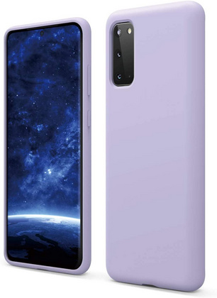 Silicone Case for Galaxy S20/S20 Ultra/S20 Plus - Lavanda
