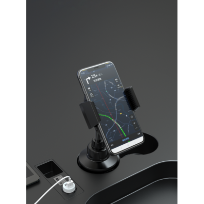 Devia Car Phone Cup holder - Black