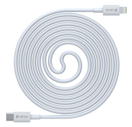 Devia PD USB-C to MFI Lightning Cable - White
