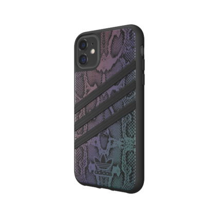 Adidas Moulded Case Reflective for iPhone 11 - Black