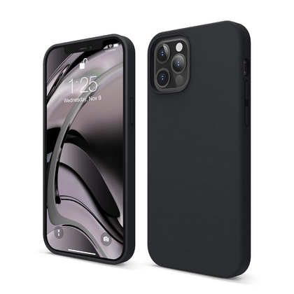 ELAGO Silicone Case for iPhone 12 PRO Max - Black