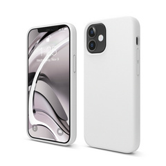 ELAGO Silicone Case for iPhone 12 Mini - White