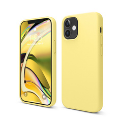 ELAGO Silicone Case for iPhone 12 Mini - Yellow