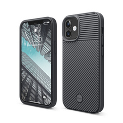 ELAGO Cushion Case for iPhone 12 Mini - Dark Gray