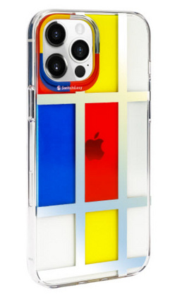 SwitchEasy Artist for iPhone 12 PRO Max - Mondrian