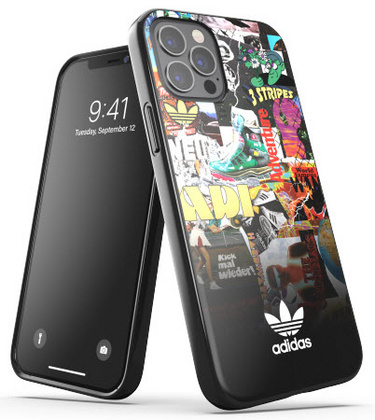 Adidas Graphic Case for iPhone 12 PRO Max - Black