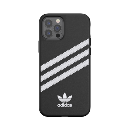 Adidas Moulded Case for iPhone 12/PRO - Black|White