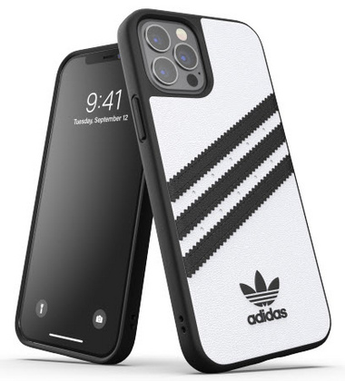 Adidas Moulded Case for iPhone 12 PRO Max - White