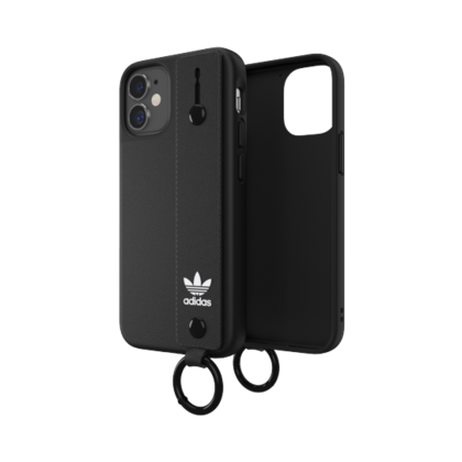 Adidas Hand Strap Case for iPhone 12 Mini - Black